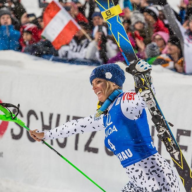 Audi FIS Skiweltcup Damen Nachtslalom